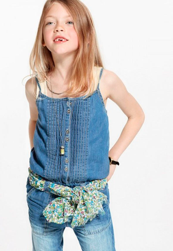 little-girl-in-denim-overalls