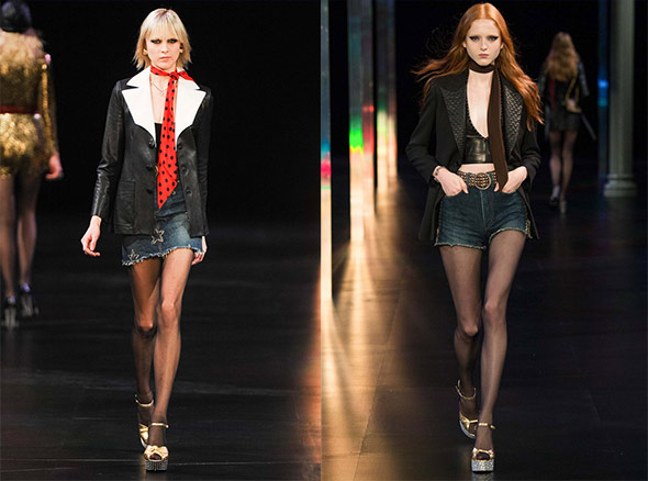 Saint Laurent, spring 2015 Ready-to-Wear